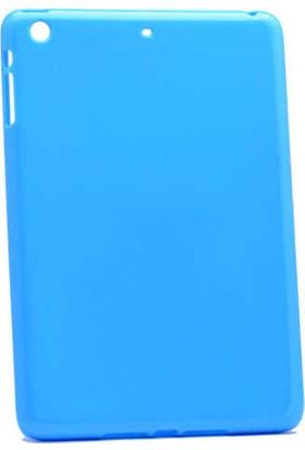 Evastore Apple iPad Mini 2 3 Kılıf Tablet Süper Silikon Kapak - Siyah