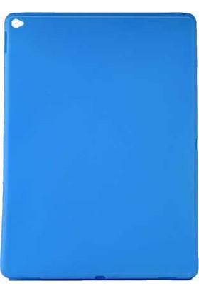 Evastore Apple iPad Pro 12.9 Kılıf Tablet Süper Silikon Kapak - Kırmızı