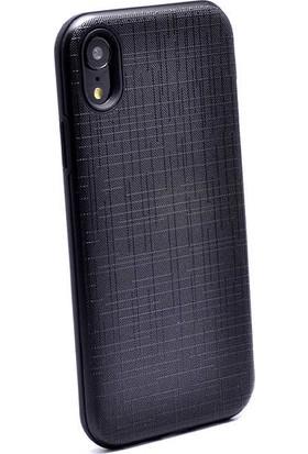 Evastore Apple iPhone XR 6.1 Kılıf Zore New Youyou Silikon Kapak - Gold