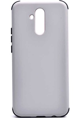 Evastore Huawei Mate 20 Lite Kılıf Zore Fantastik Silikon - Gri