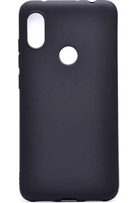 Evastore Xiaomi Redmi Note 6 Pro Kılıf Zore Premier Silikon - Siyah