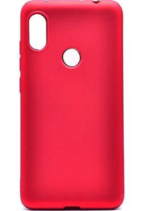 Evastore Xiaomi Redmi Note 6 Pro Kılıf Zore Premier Silikon - Kırmızı