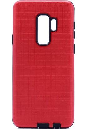 Evastore Galaxy S9 Plus Kılıf Zore New Youyou Silikon Kapak - Kırmızı