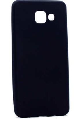 Evastore Galaxy A3 2016 Kılıf Zore Premier Silikon - Siyah