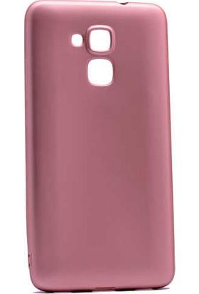 Evastore Huawei Honor Gt3 Kılıf Zore Premier Silikon - Rose Gold