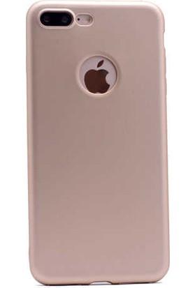 Evastore Apple iPhone 7 Plus Kılıf Zore Premier Silikon - Gold