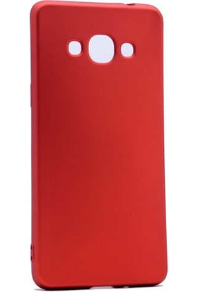 Evastore Galaxy J3 Pro Kılıf Zore Premier Silikon - Kırmızı