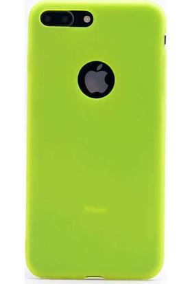 Evastore Apple iPhone 8 Kılıf Zore Premier Silikon - Sarı