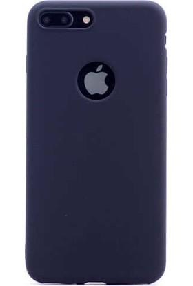 Evastore Apple iPhone 8 Kılıf Zore Premier Silikon - Siyah