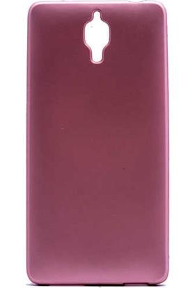 Evastore Xiaomi Mi 4 Kılıf Zore Premier Silikon - Rose Gold