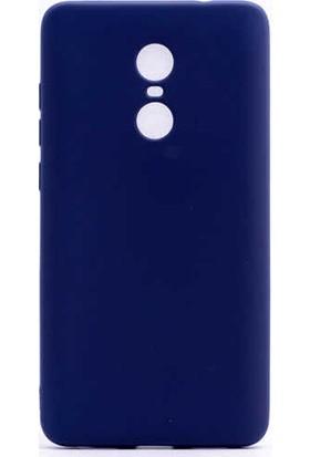 Evastore Xiaomi Redmi Note 4X Kılıf Zore Premier Silikon - Lacivert
