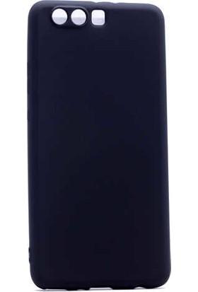 Evastore Huawei P10 Plus Kılıf Zore Premier Silikon - Siyah