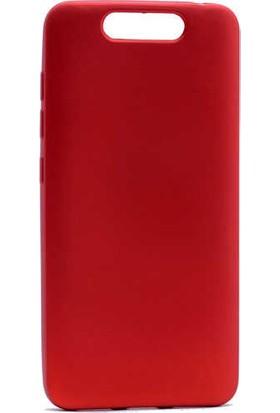 Evastore Turkcell T80 Kılıf Zore Premier Silikon - Kırmızı