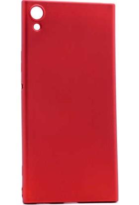Evastore Sony Xperia XA1 Kılıf Zore Premier Silikon - Kırmızı