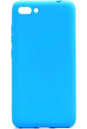 Evastore Asus Zenfone 4 Max ZC554KL Kılıf Zore Premier Silikon - Mavi