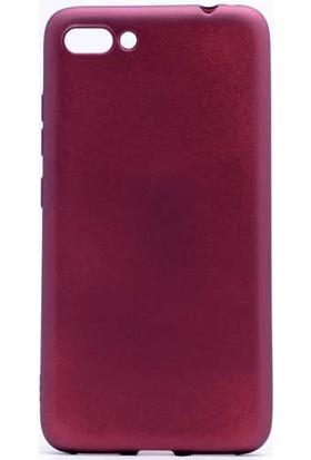 Evastore Asus Zenfone 4 Max ZC554KL Kılıf Zore Premier Silikon - Mürdüm