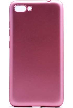 Evastore Asus Zenfone 4 Max ZC554KL Kılıf Zore Premier Silikon - Rose Gold