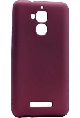 Evastore Asus Zenfone 3 Max ZC520TL Kılıf Zore Premier Silikon - Mürdüm