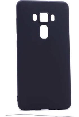 Evastore Asus Zenfone 3 ZE552KL Kılıf Zore Premier Silikon - Siyah