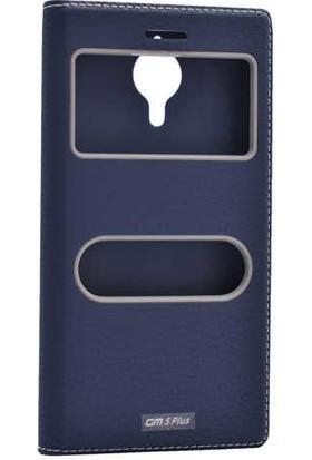 Evastore General Mobile 5 Plus Kılıf Zore Dolce Telefon Kılıfı - Lacivert