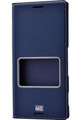 Evastore Sony Xperia M5 Kılıf Zore Dolce Telefon Kılıfı - Lacivert