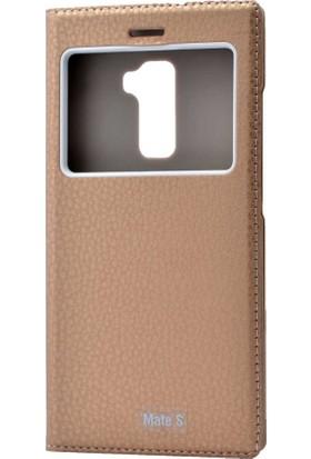 Evastore Huawei Mate S Kılıf Zore Dolce Telefon Kılıfı - Gold