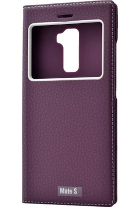 Evastore Huawei Mate S Kılıf Zore Dolce Telefon Kılıfı - Mor