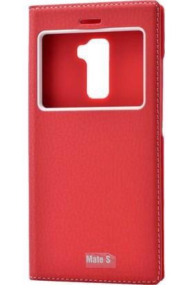 Evastore Huawei Mate S Kılıf Zore Dolce Telefon Kılıfı - Kırmızı