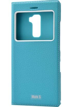 Evastore Huawei Mate S Kılıf Zore Dolce Telefon Kılıfı - Turkuaz