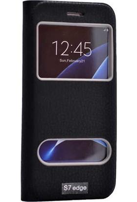 Evastore Galaxy S7 Edge Kılıf Zore Dolce Telefon Kılıfı - Siyah