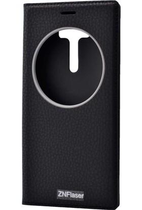 Evastore Asus Zenfone 2 Laser ZE550KL Kılıf Zore Dolce Telefon Kılıfı - Siyah