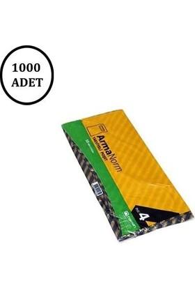 Naksan Takviyeli Siyah Çizgili Poşet 40 X 50 No.4 (1000' li)
