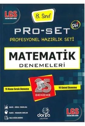 Dorya Yayınları LGS Matematik Pro-Set 25 Denemeleri