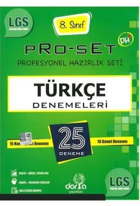 Dorya Yayınları LGS 8.Sınıf Pro-Set 25 Türkçe Denemeleri