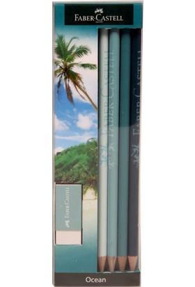 Faber-Castell Kurşun Kalem Ocean 4'Lü Blister