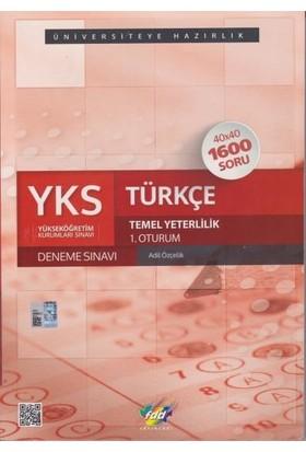 YKS 1.Oturum Türkçe Deneme Sınavı FDD Yayınları