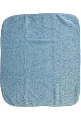 Recos Kışlık Mavi Peluş Bebek Battaniyesi