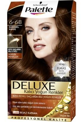 Palette Deluxe Yoğun Karamel Kahve 6-68 50 ml