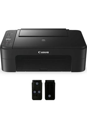 Canon Pixma TS3150 WiFi Yazıcı ve Tıpalı Kartuş