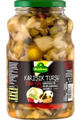 Kühne Türk Tipi Karışık Turşu, 2650 ml