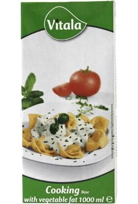 Vitala Bitkisel Yemek Kreması, 1 lt