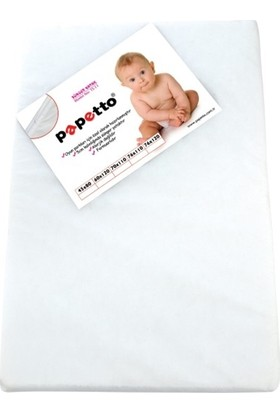 Papetto Nice Sünger Yatak 76x110 cm Beyaz