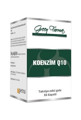 Green Farma Koenzim Q10 100 mg 30 Kapsül