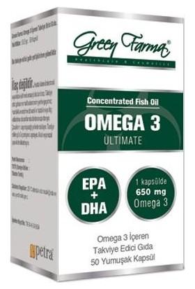 Green Farma Omega 3 Ultimate 50