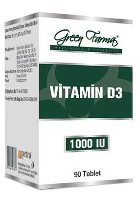 Green Farma Vitamin D3 1000 IU