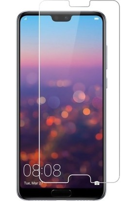 DVR Huawei P20 Pro Kılıf New Youyou Sert Silikon (Mavi) + Nano Cam Ekran Koruyucu