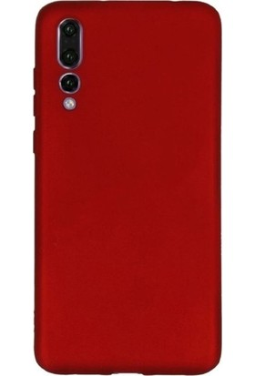 DVR Huawei P20 Pro Kılıf Premier Silikon (Kırmızı)