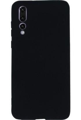 DVR Huawei P20 Pro Kılıf Premier Silikon (Siyah) + Cam Ekran Koruyucu