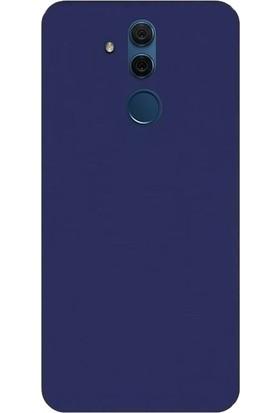 DVR Huawei Mate 20 Lite Silikon Kılıf Premir (Lacivert) + Nano Cam Ekran Koruyucu