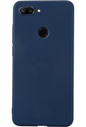 DVR Xiaomi Mi 8 Lite Kılıf Silikon Premier (Lacivert)